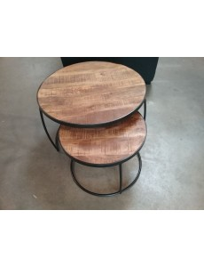 TABLE BASSE RONDE X 2...
