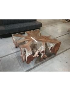 TABLE BASSE 100X100CM...