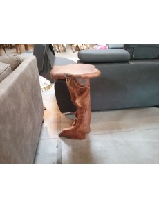 TABOURET PIEDS TECK ASSISE...
